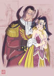 Lord Bison 'n Lady Rose by Shadaloo1989
