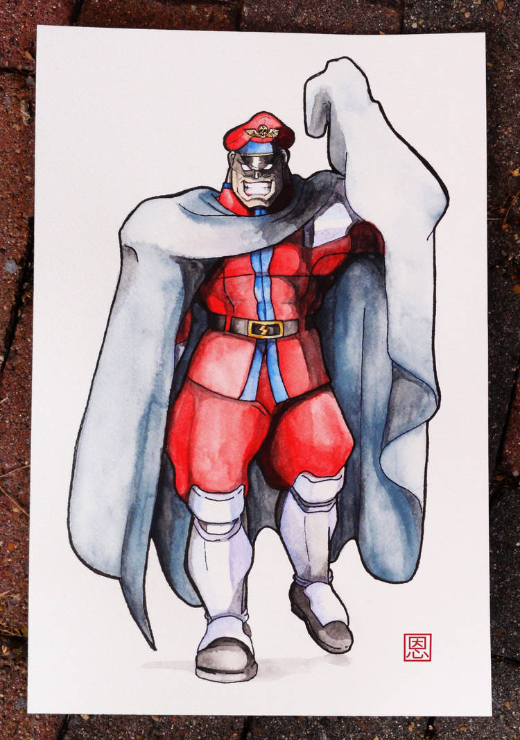 Cloaked in secrecy - M.Bison / Vega by Shadaloo1989