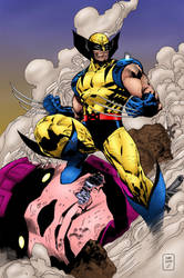 Wolverine Triumphant! by statman71