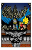 Batman and Robin by statman71