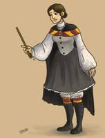 Victorian Hogwarts Student by divine-miss-m