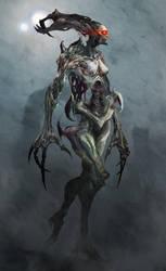Daughter of the Dark Goddess by cobaltplasma