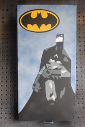 The Batman / Spraypaint by Joshfryguy