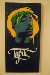 Tupac Tribute by Joshfryguy