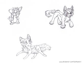 Contest Sprites. by Un-Gato
