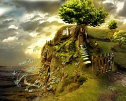 Treehouse by kitiekat4U