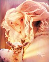 Mary's Lamb by kitiekat4U