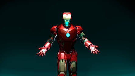 Iron Man - Marvel by CC3TheArtist