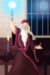 Patreon Request 2 - Dumbledore by OwenOak95