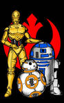 Stars Wars Droids by RWhitney75