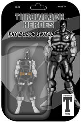 Throwback Toys The Black Shield  by RWhitney75