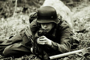 German with MP40 again by m4sherman