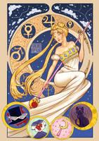 Queen Serenity by CherryHour