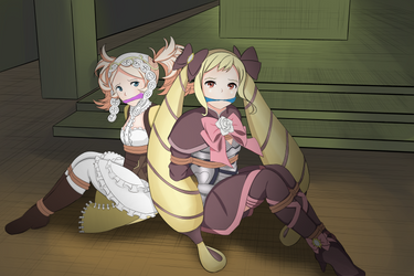 Elise and Lissa Redraw by zztifazz