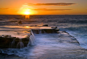 Maroubra Steps Sunrise by HarryZero