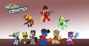 My Little ScrewAttack TF2 RED by Sonic-chaos