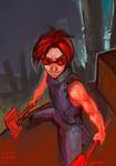 Battle Miner by LauraKjoge
