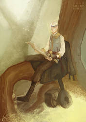 Rildir - RP Character by LauraKjoge