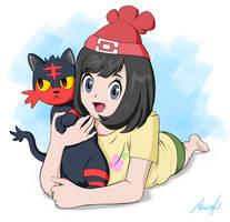 My Alola Kitty - Pokemon Sun and Moon by Dormant0611