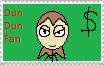 Dun Dun Fan Stamp by qg2004