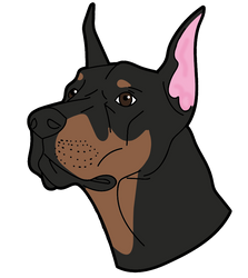 Doberman by Yosteria