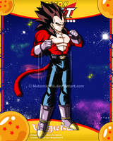 DBGT Vegeta ssj4 by Metamine10