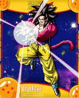 DBGT Goku ssj4 by Metamine10