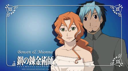 Commission 7 - Happy couple by NoVaNoah
