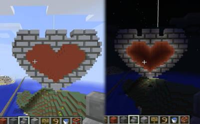 Hartfort Cutiemark In Minecraft by Hart-Fort