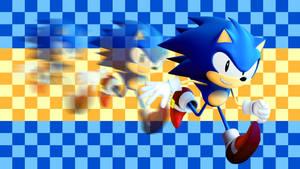 Sonic Speed by AlexanderGantt