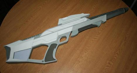 Cellulose futuristic weaponry by Martinux