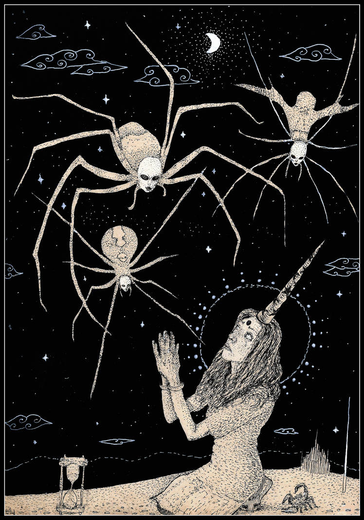 Spiders from Heaven by Anton-Constantin