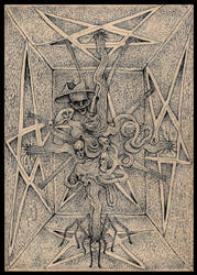 Pentagrams by Anton-Constantin