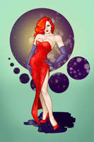Jessica Rabbit by CatAstropheBoxes