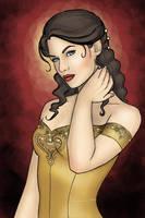 Portrait of a Perfect Noblewoman by CatAstropheBoxes