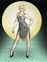 1920s Georgette Redux by CatAstropheBoxes