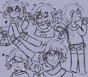 soft doodle page 1 by ku-roki