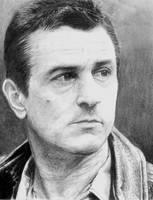 Robert de Niro Portrait by skeroro