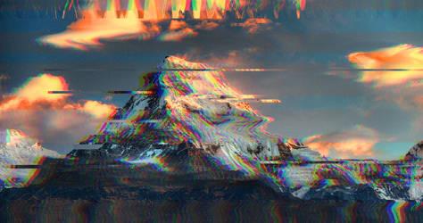 Sunny snowy mountainy by Ste1lar