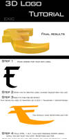 3D Logo Text Tutorial by ExExic