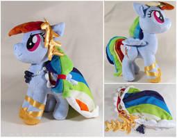 Gala Rainbow Dash by MagnaStorm
