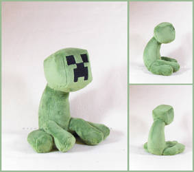 Sitting Creeper by MagnaStorm