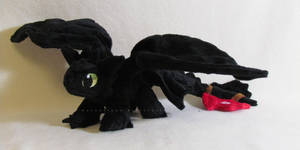 Mini Toothless by MagnaStorm