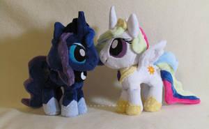 Chibi Princesses by MagnaStorm