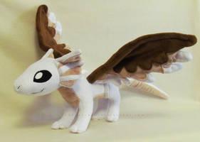 Icarean Dragon hatchling by MagnaStorm