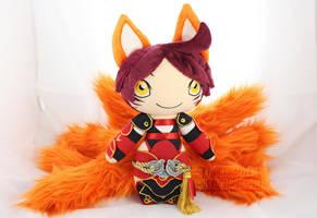 Foxfire Ahri by MagnaStorm
