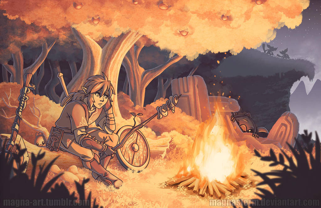 Campfire by MagnaStorm