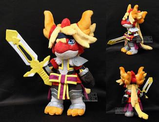 Fire Sword Doble by MagnaStorm