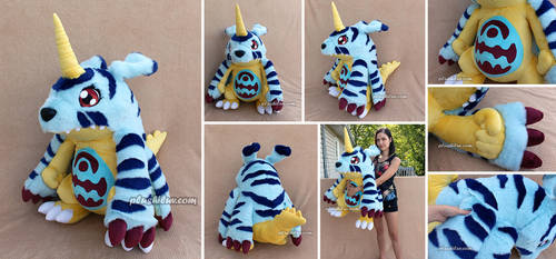Gabumon (long fur ver) by MagnaStorm