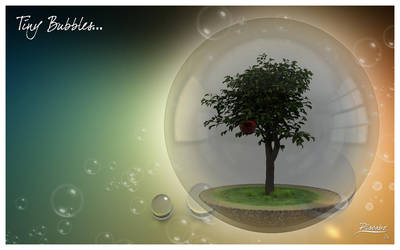 Tiny Bubbles... by FracZky